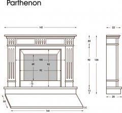 Modell Parthenon