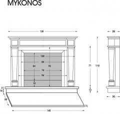 Modell Mykonos